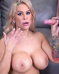 Bit tits anal interracial