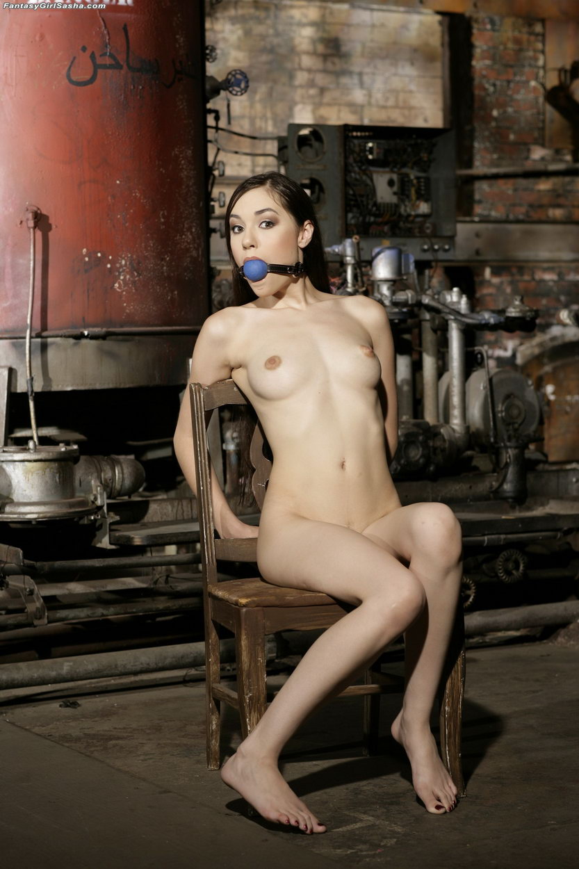 sasha grey ball gagged and fucked in the ass submission
